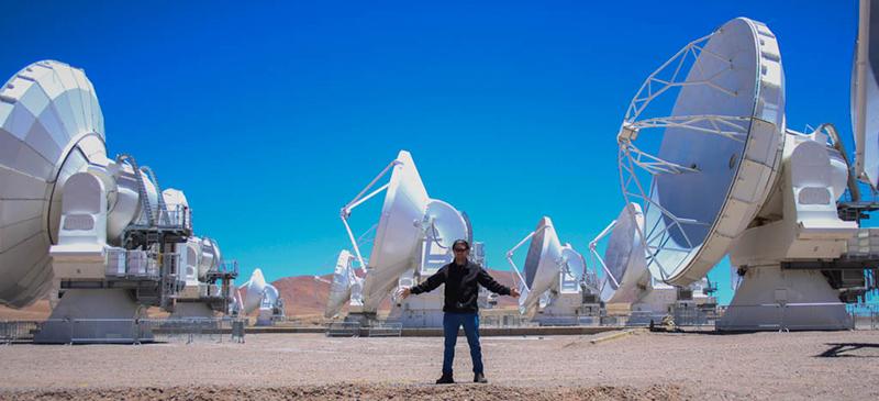 Visita al Observatorio ALMA junto a un grupo de ejecutivos.