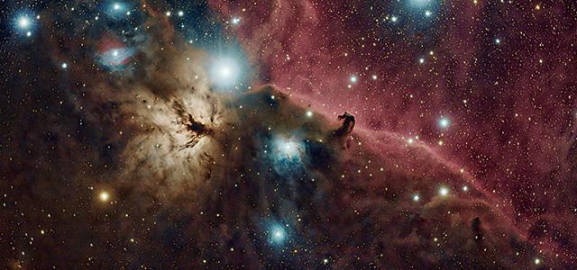 Nebulosa Cabeza de Caballo, capturada por Carlos Milovic