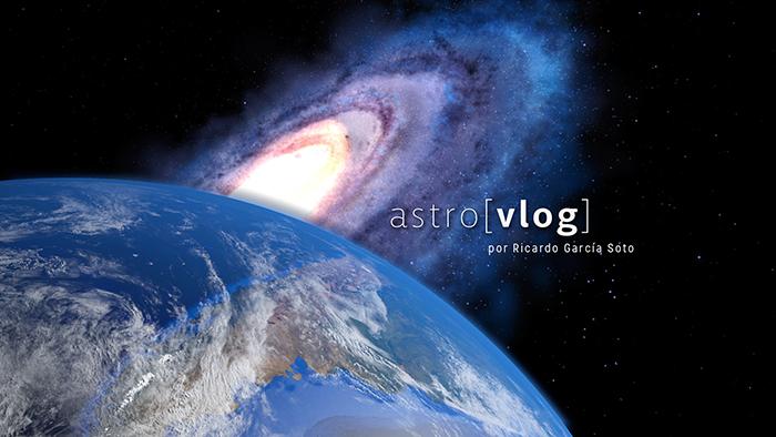 Astrovlog canal de youtube de Ricardo García Soto