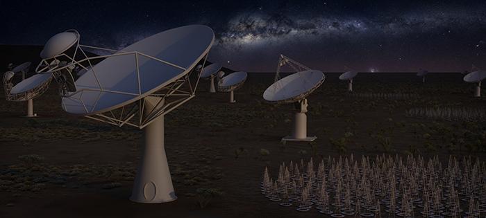 ¿Cómo construir millones de antenas de radioastronomía? Conversación con Mathieu Isidro, del proyecto Square Kilometre Array, los inicios de este telescopios, el estado actual, cómo se consiguen los fondos para tan ambicioso proyecto y por supuesto un análisis de la ciencia que se estudiará como las ondas gravitacionales, la búsqueda de vida inteligente, comprender los orígenes del universo.